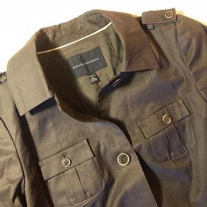 Banana Republic short-sleeve army jacket